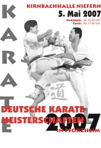 Plakat zur DM 2007